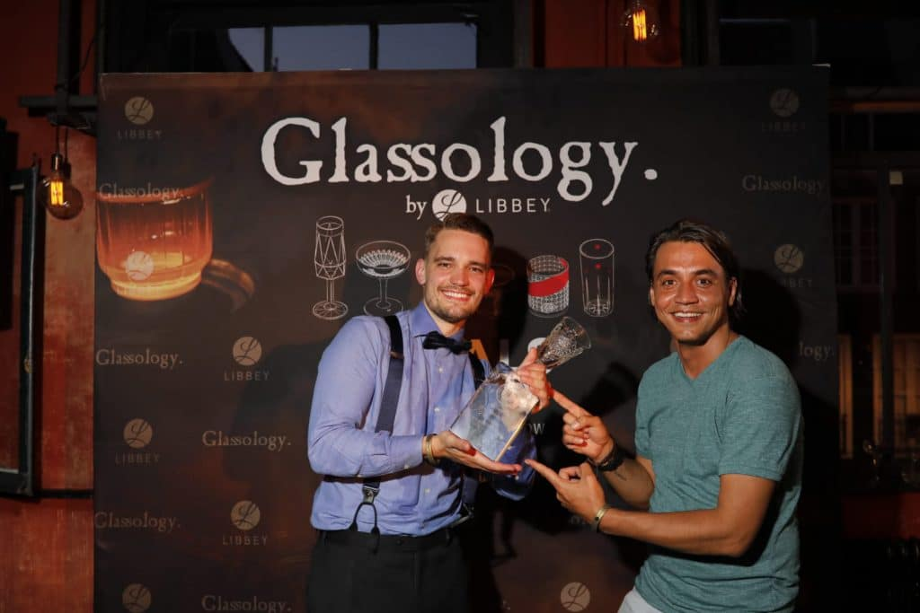 Glassology Winner Yochen and Robert
